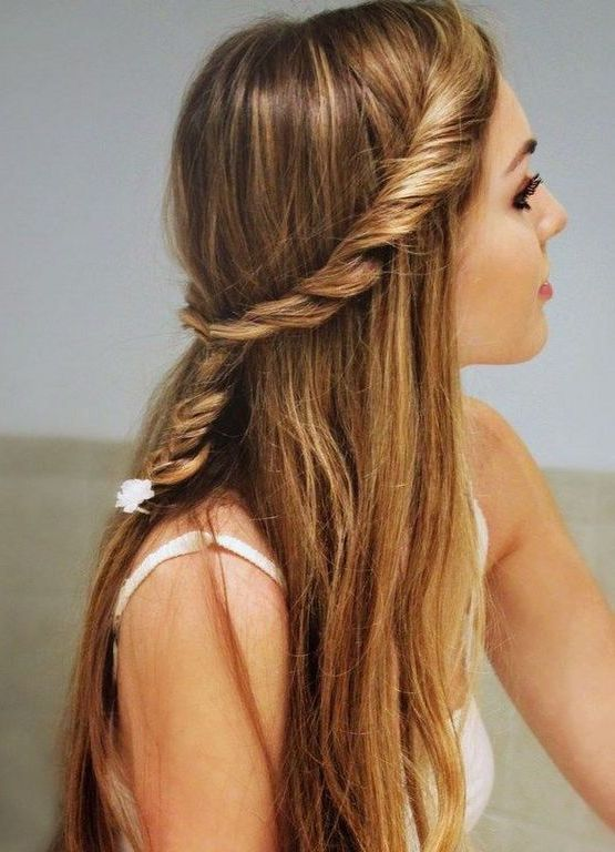 Sweet hairstyle