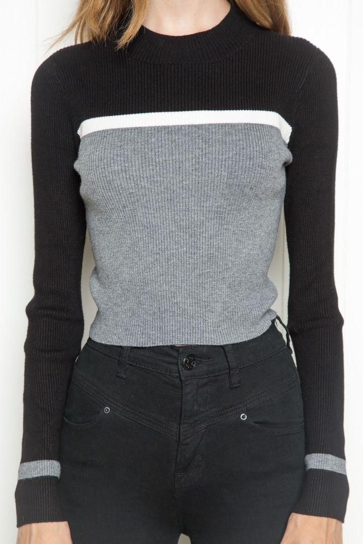Brett Turtleneck Top - Clothing