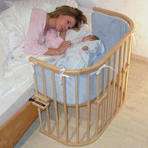 Práctica, para recamaras pequeñas.  donde el bebé tiene su propio espacio