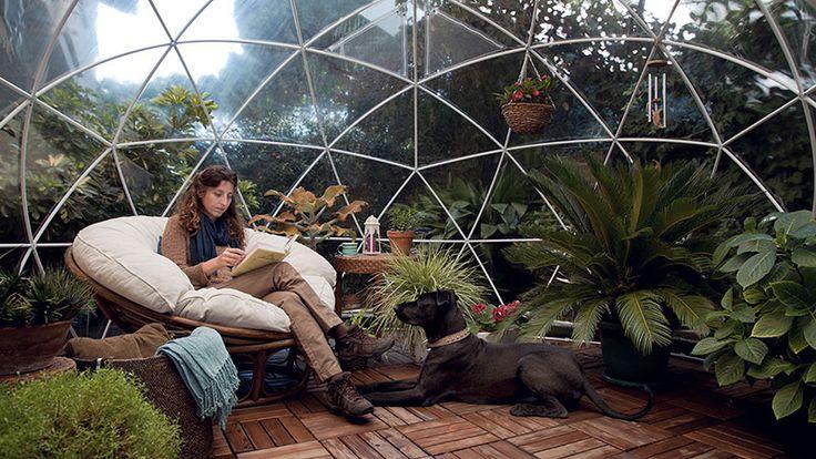 Gazebo da giardino? Si ma a forma di igloo! • Design