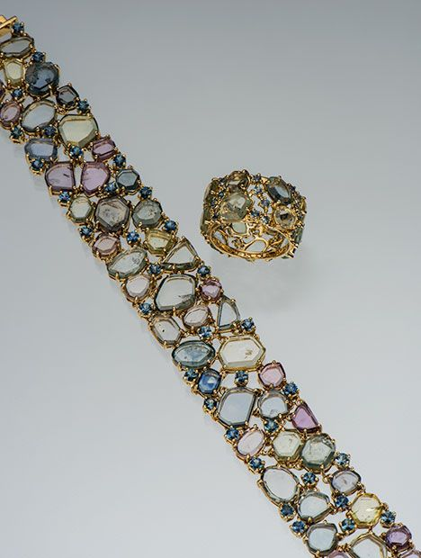 Paula Crevoshay's American Collection, Plus Jewelry with Nontraditional Gemstones