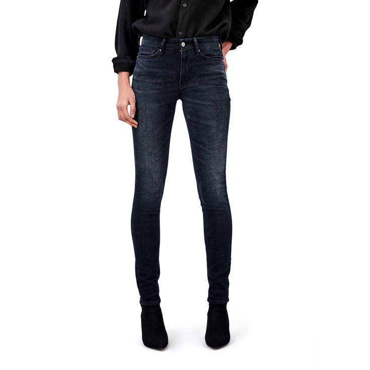 Kings of Indigo: Juno High - Damen Jeans - deep black   zündstoff