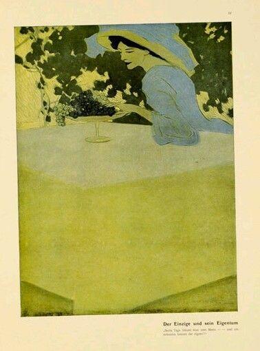 DUDOVICH:1910 - FROM ★ ALBUM CORSO ★ -  DONNA NELL ARTE ,  LIBERTY / ART NOUVEAU