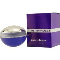 Paco Rabanne Ultraviolet Eau De Parfum Spray for Women, 2.7 Ounce by Paco Rabanne. $41.78. Eau De Parfum Spray 2.7 Oz./ 80 Ml for Women. All our fragrances are 100% originals by their original designers. We do not sell any knockoffs or immitations.. Ultraviolet Perfume for Women Eau De Parfum Spray 2.7 Oz./ 80 Ml. We offer many great sales and discounts making this fragrance cheaper than at department stores.. Packaging for this product may vary from that shown in the image above...