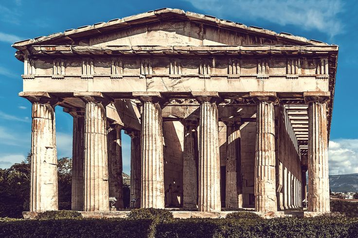 Temple of Hephaestus, Athens love  less than three places ...