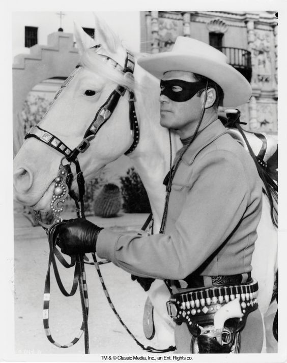 Clayton Moore  aka The Lone Ranger  FRIDGE MAGNET