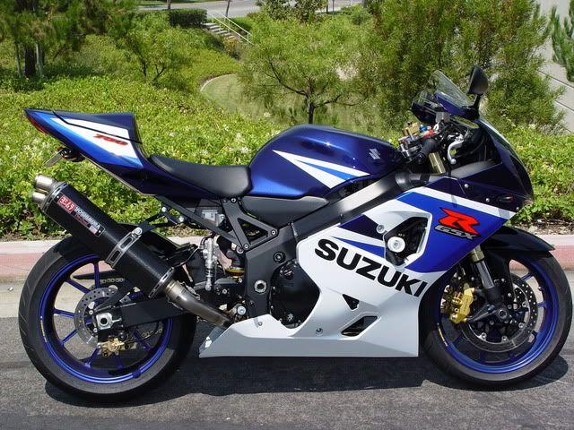 2005 Suzuki GSXR 750 w/Marchesini 10 Spokes :  GSXR.com Forum : Suzuki GSX-R Forums  vierde motor 2005-2007
