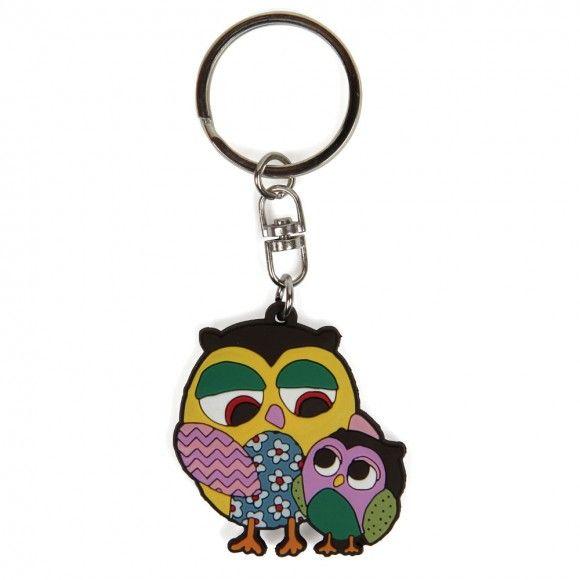 Laura owls keyring