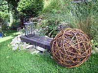 Gartengestaltung mit Weiden