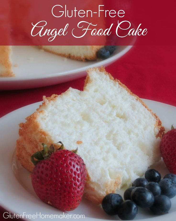 Perfect Gluten-Free Angel Food Cake at GlutenFreeHomemaker.com