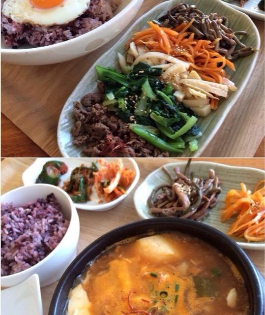 韓国料理のランチは珍しいです〜  辛いの特訓した成果で、全然大丈夫でした!  ・ビビンバ ・スンドゥブ - 101件のもぐもぐ - スンドゥブ〜 by 1125shino