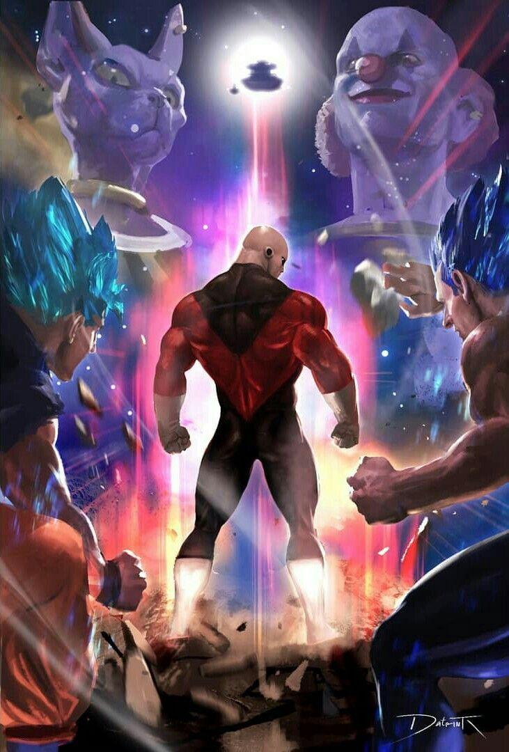 Saint Seiya 3d Live Wallpaper Goku And Vegeta Vs Jiren The Grey Dragonball Super
