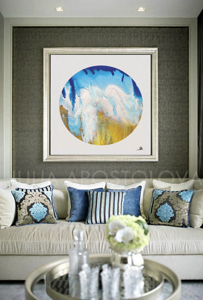 #Coastal #WallArt, #Ocean #Print, #Circle #Canvas, #OceanPrint #Sea #Abstract, #Beach #Decor, #Seascape #Painting, #Blue #White #Gold #Large #CanvasArt #Teal by #Turquoise, #Copper #Teal, #Large #WallArt #Abstract by #JuliaApostolovaArt on #Etsy #homedecor #interior #bedroom #livingroom #decor #interiordesign  #interiordesigner #officedecor #homeinterior