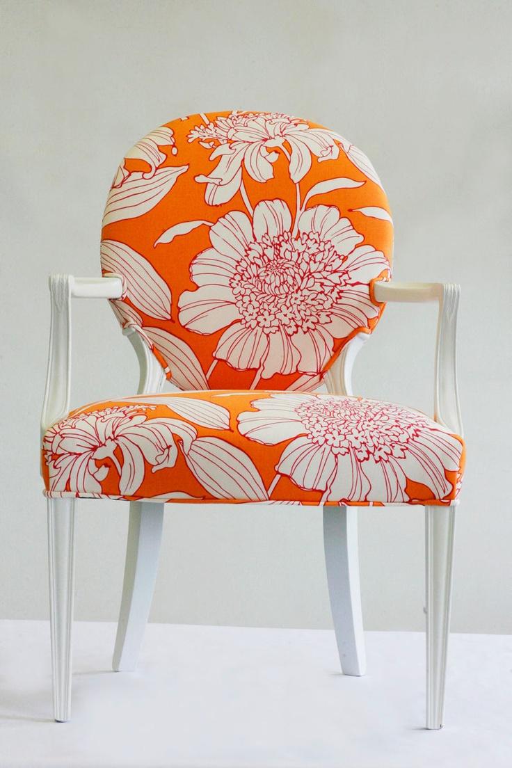 Andrea Mihalik Wild Chairy Orange Chair