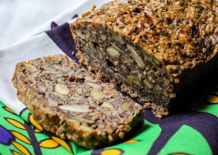 Gluteeniton kivikauden leipä siemenistä