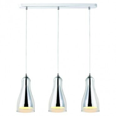 Lampa wisząca Colours Guardi 3 x 25 W E14 szkło