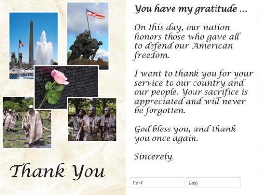 memorial day photos free | Memorial Day Thank You