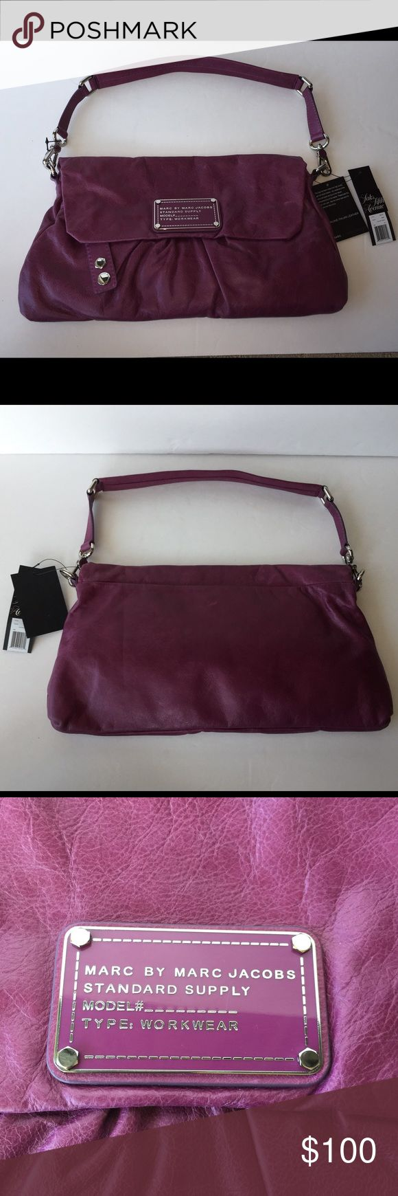 Marc Jacobs Purse. Brand New Brand new purple Marc Jacobs purse Marc By Marc Jacobs Bags Shoulder Bags