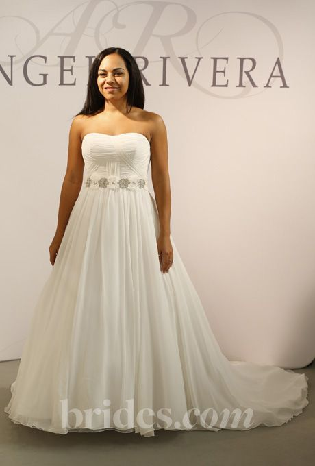 Brides.com: Angel Rivera - Fall 2013. Gown by Angel Rivera  See more Angel Rivera wedding dresses in our gallery.