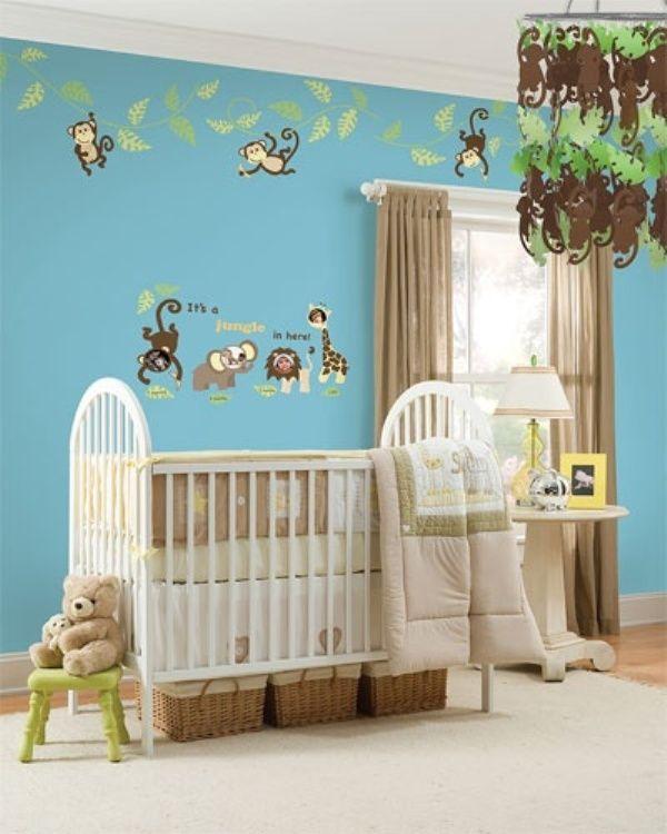 die besten 25+ safari babyzimmer ideen auf pinterest | zoo, Schlafzimmer