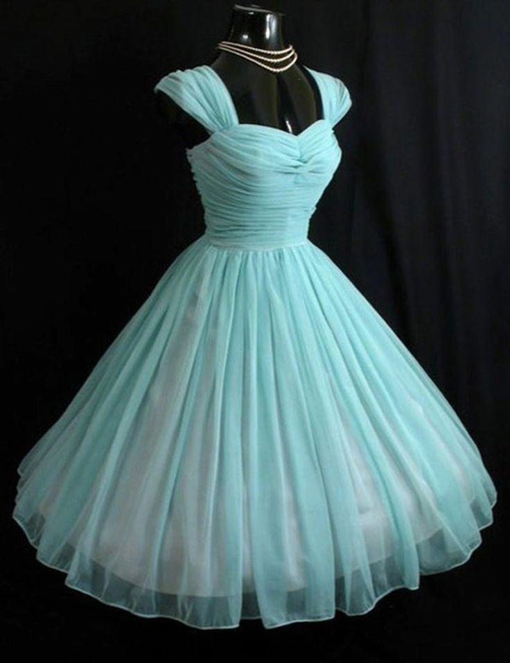 2016 homecoming dress,homecoming dress,vintage homecoming dress,1950s homecoming dress,lake blue homecoming dress,elegant homecoming dress,back to school dress
