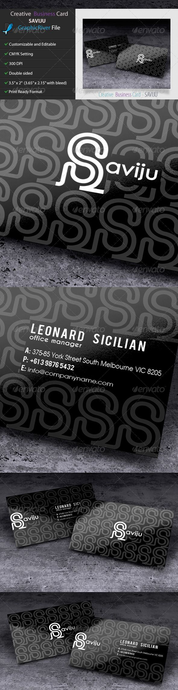 Creative Business Card - SAVIJU2