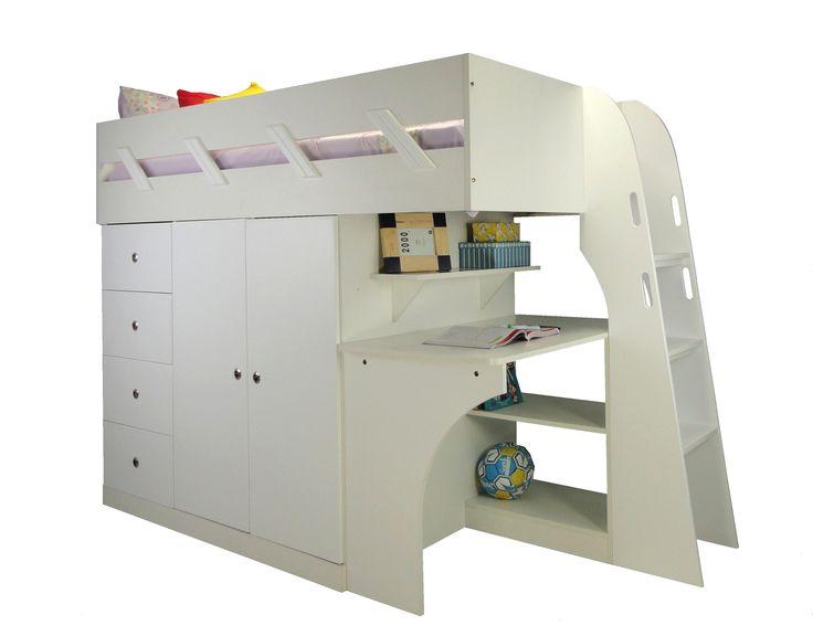 Loft Beds With Desk Melbourne Google Search White
