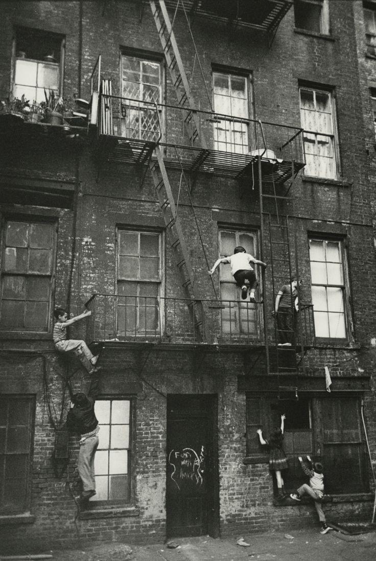 William Carter: Lower East Side, 1963 via onreact