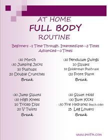9toFit: Friday's Full Body Workout