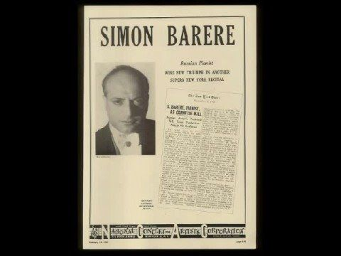 Barere plays Liszt Hungarian Rhapsody No.12