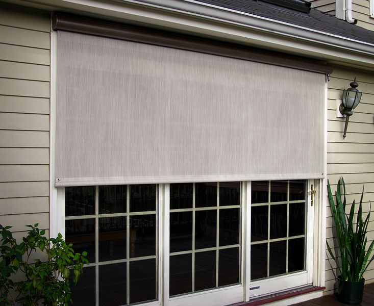 sunsetter awnings with screen sides | Awning Door Alamo And Solar Screens Sunsetter