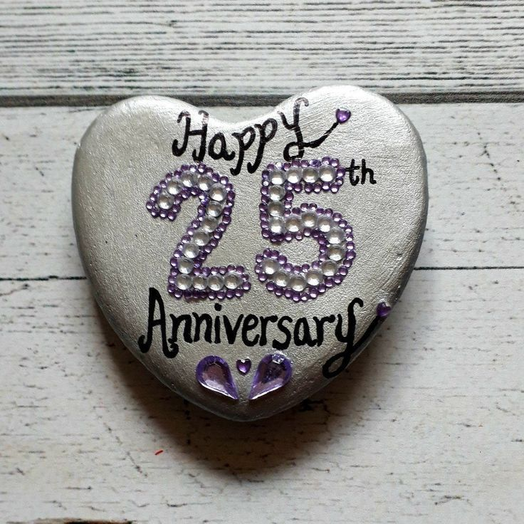 25th silver wedding anniversary gift wedding anniversary