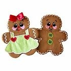 Gingerbread Potholders and Appliques Embroidery Designs