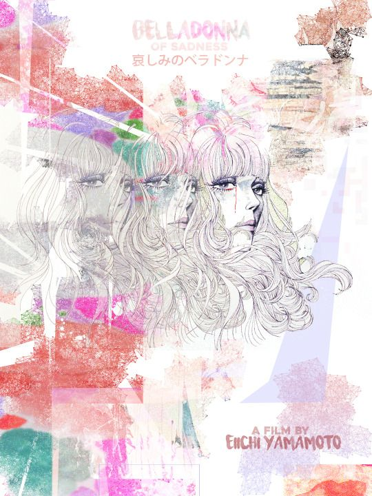 BELLADONNA OF SADNESS art contest entry from Travis Flack. An Animated Film For Adults