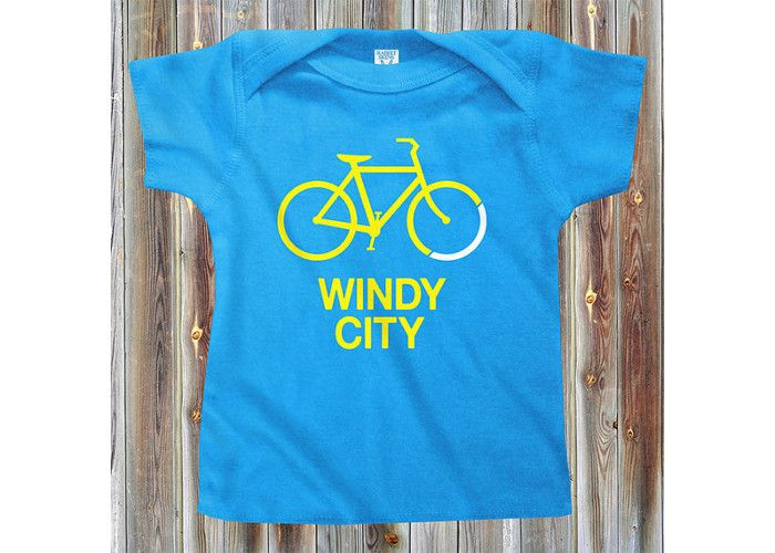 Baby Bike Windy City T-Shirt. Price: £15.30, available from Etsy.