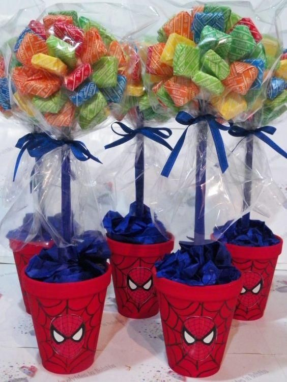 Superman Party, Superhero Birthday Party, 3rd Birthday Parties, Birthday Party Decorations, Fête Spider Man, Birthday Tarpaulin Design, Spiderman Theme, Candy Bouquet, Pula