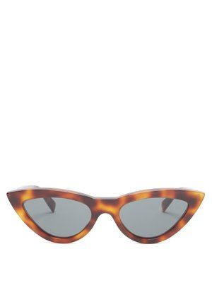 a18968ccd Cat-eye tortoiseshell acetate sunglasses | Céline Eyewear |  MATCHESFASHION.COM UK