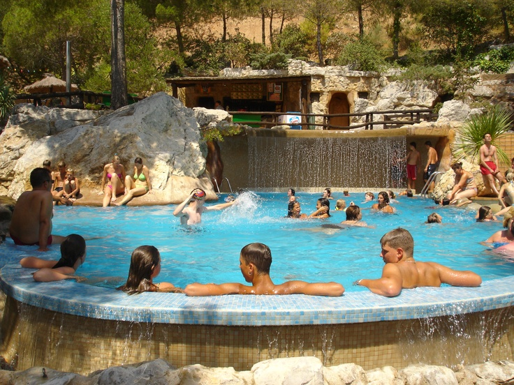 Camping Castell Montgri.