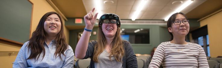 For students at Bryn Mawr College, augmented reality is more than just fun and games: it's been an opportunity to…