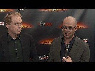 Tomorrowland: NYCC 2014: Damon Lindelof & Brad Bird Interview --  -- http://www.movieweb.com/movie/tomorrowland-2015/nycc-2014-damon-lindelof-brad-bird-interview