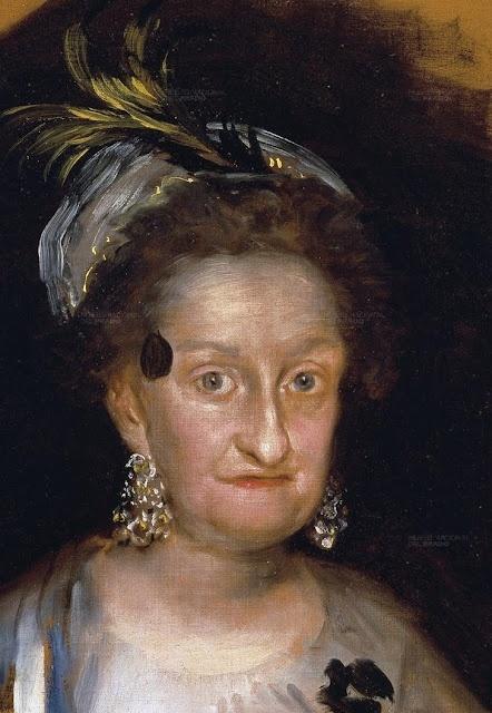 Francisco de Goya y Lucientes (1746-1828).  María Josefa de Borbón y  Sajonia, infanta de España (1800)
