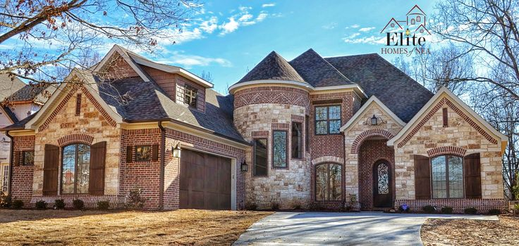 French country exterior with turret beautiful brick and for French country brick exterior