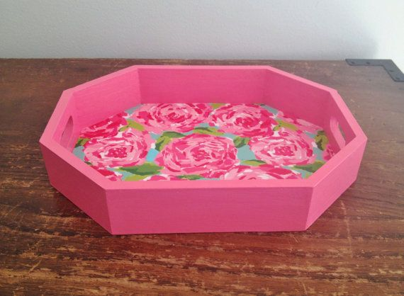 Lilly Pulitzer First Impression Rose By AnnaMerrickDesigns On Etsy, $15.00