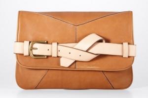 by Ann Taylor: Taylors Clutches, Straps Clutches, Brown Leather Bags, Taylors Leather, Leather Straps, Leather Clutch, Anntaylor, Ann Taylor, Anne Taylors