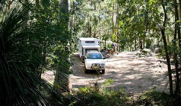 Vehicle camping, Watagans National Park