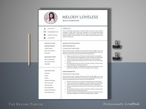 1000+ Ideas About Resume Templates On Pinterest