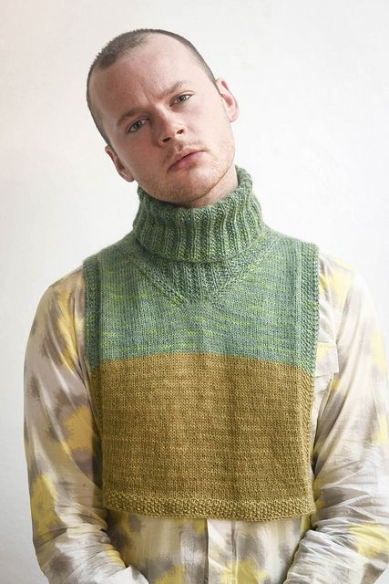 Ravelry: Ribbed Dickey pattern by Stephen West