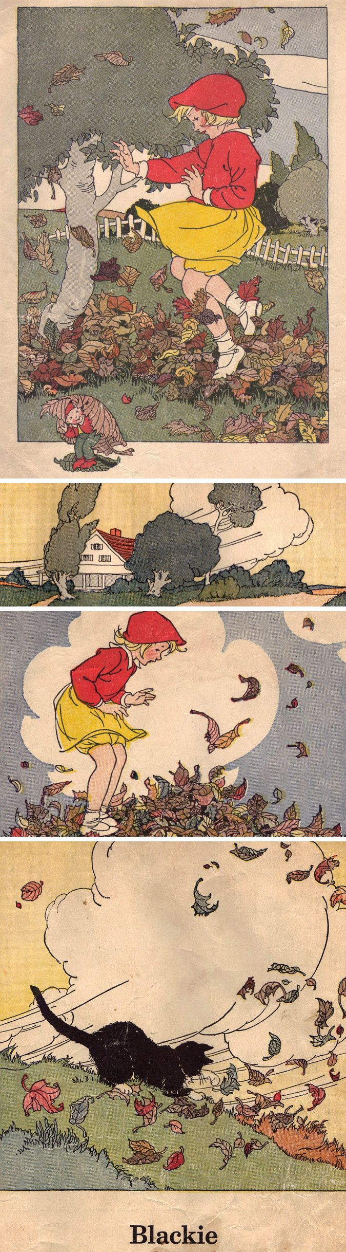 Marguerite Davis Illustrations. Reminds me of Little Sallie Mandy illustrated by Bess Goe Willis...