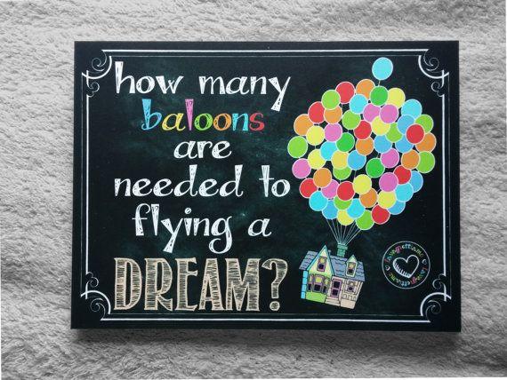 Guarda questo articolo nel mio negozio Etsy https://www.etsy.com/it/listing/230737936/up-dreaming-chalkboard-art
