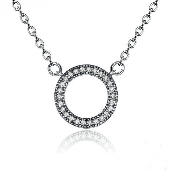 Sterling Silver Hearts of Brand Women Necklace